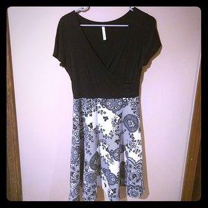 Mod Cloth Gilli A line  dress.